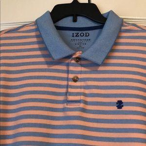 NWOT izod striped soft polo
